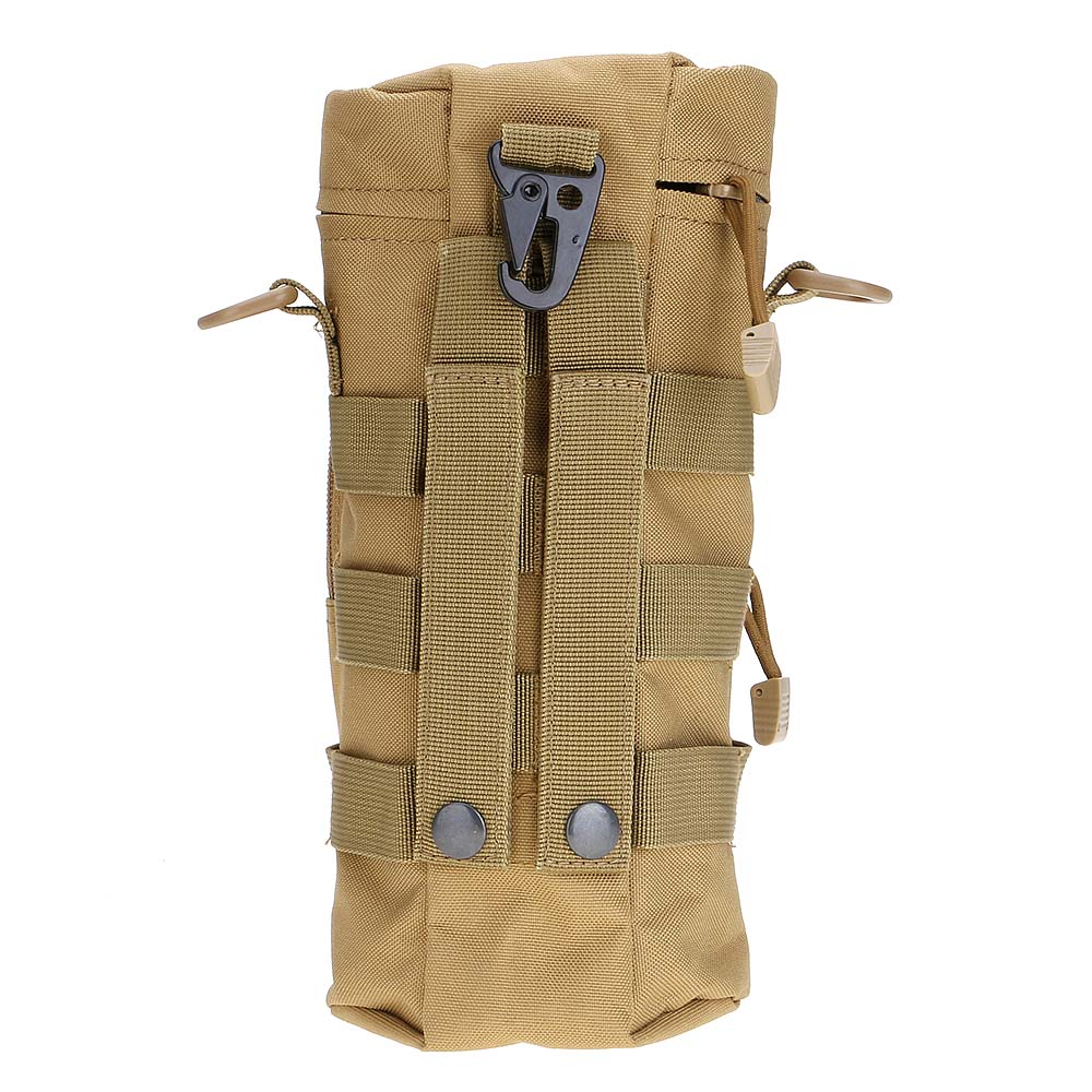 Outdoor Airsoft Molle Tactical Molle Zipper Water Bottle